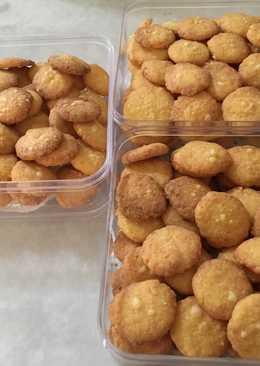 Parmesan cheese cookies