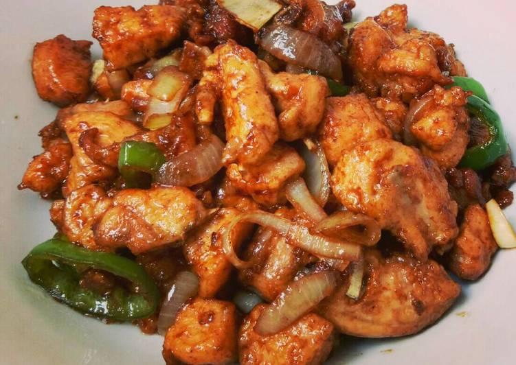 Ayam Fillet Saus Tiram