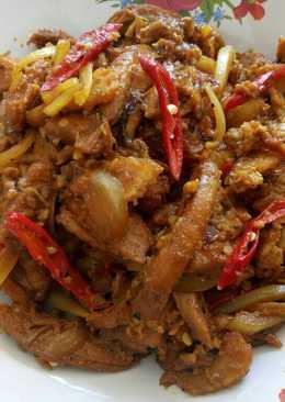 Ayam & nugget teriyaki