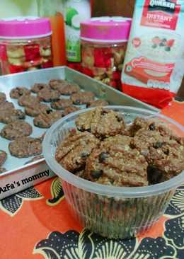 Crunchy oatmeal cookies