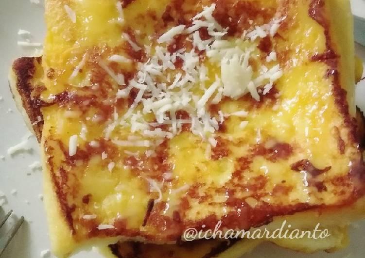 Choco cheese french toast