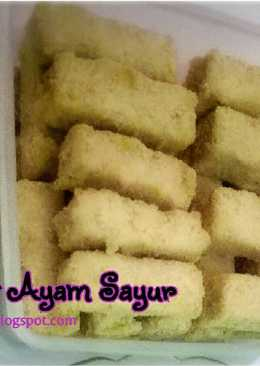 Nugget Ayam Sayur (toddler meal)