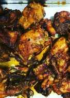 026. Ayam bakar manis pedas