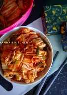 Kimchi Korean Salad (Healthy food)