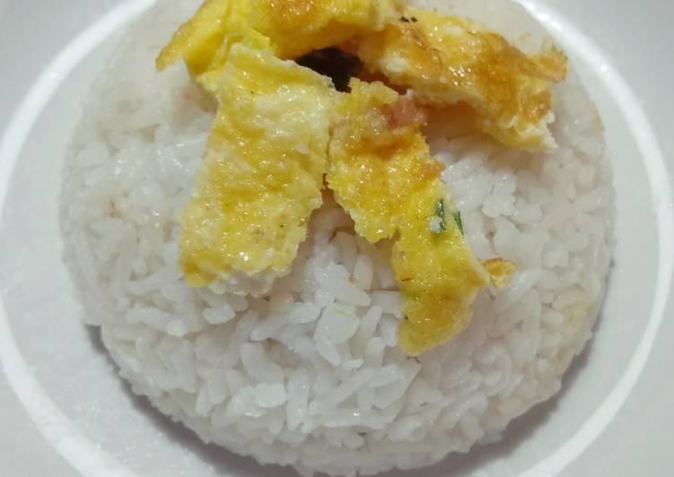 Nasi Uduk ala Rice Cooker