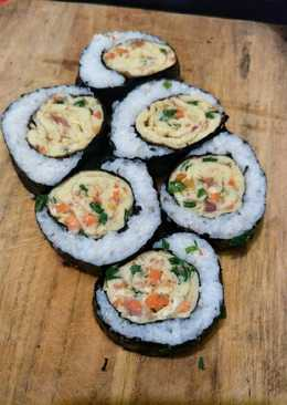 Kimbab egg roll