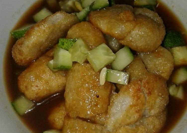 gambar untuk resep Pempek nasi endesss