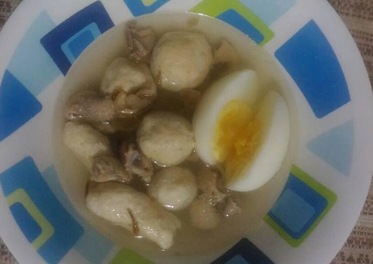 Bakso Ayam DEBM Ala Mama Celia