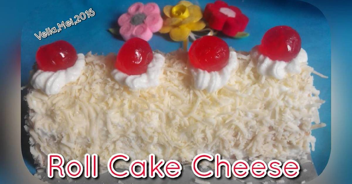 Resep Roll Cake Cheese