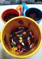 Cake Cokelat Mug Kukus