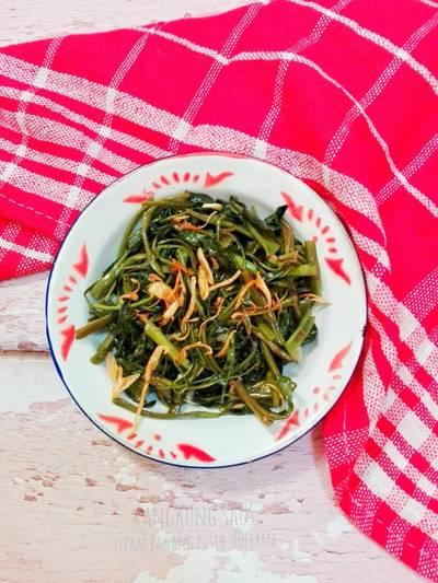 Kangkung saus tiram bawang putih #maree