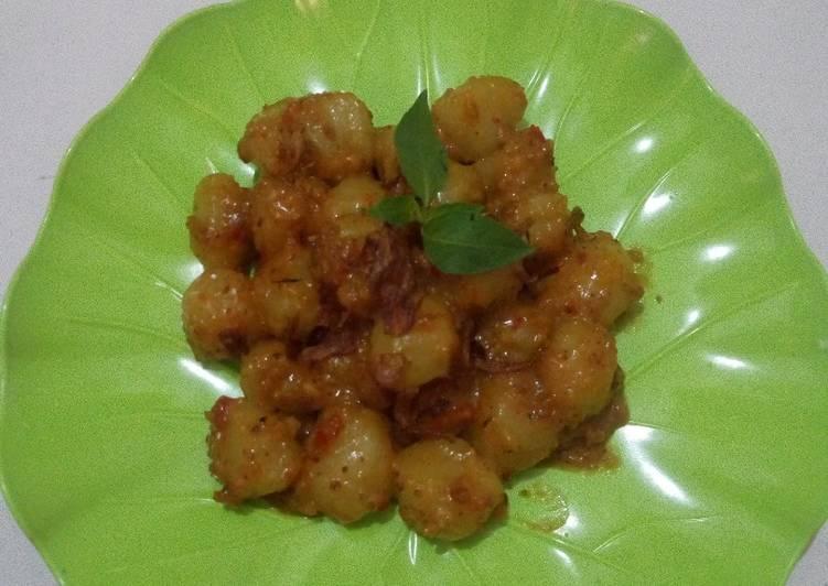 Resep Cilok Bumbu Kacang Pedas Oleh Nia Charaga Cookpad