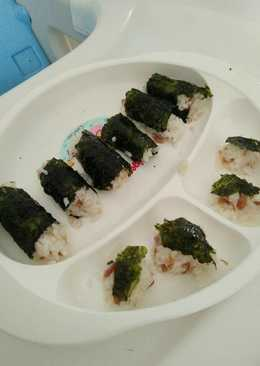 Onigiri tuna untuk menu blw
