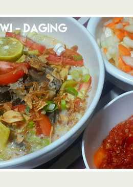 Soto Betawi Daging (+Iga+Jeroan)
