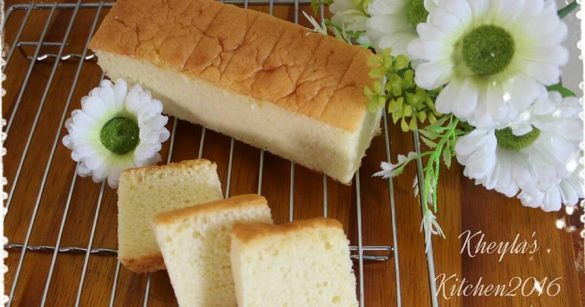 Resep Bolu Cheese Cake Jepang: Sponge Cake Keju