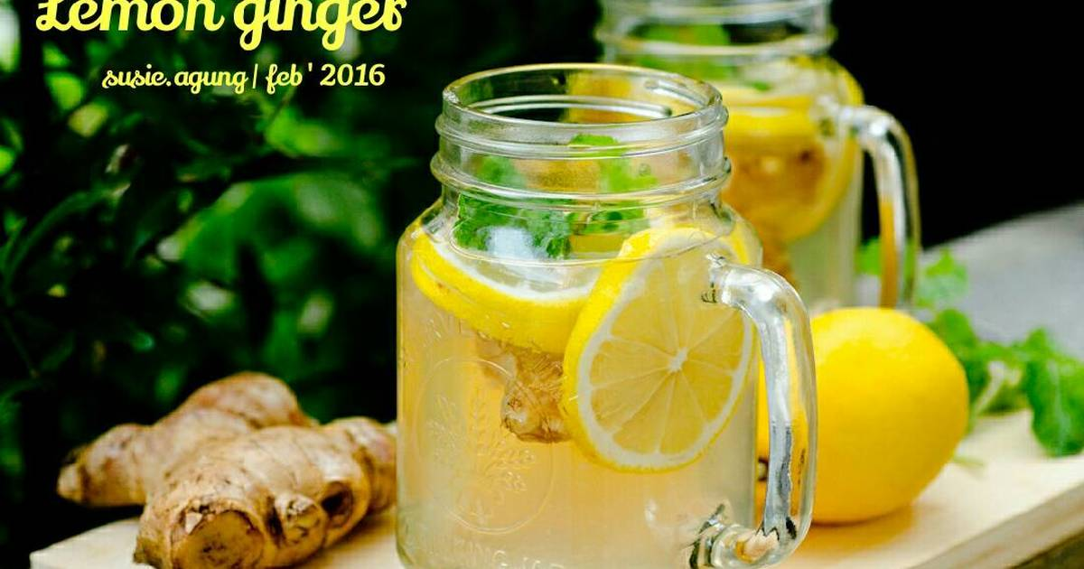 Resep Lemon ginger