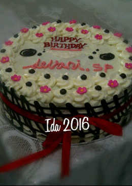 206 resep brownies kukus birthday cake lembuut enak dan sederhana