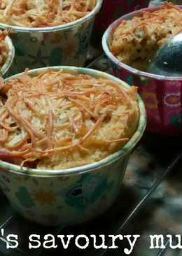 Muffin sosis bakso keju
