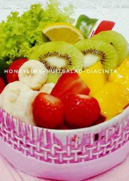 Honeylime Fruit Salad