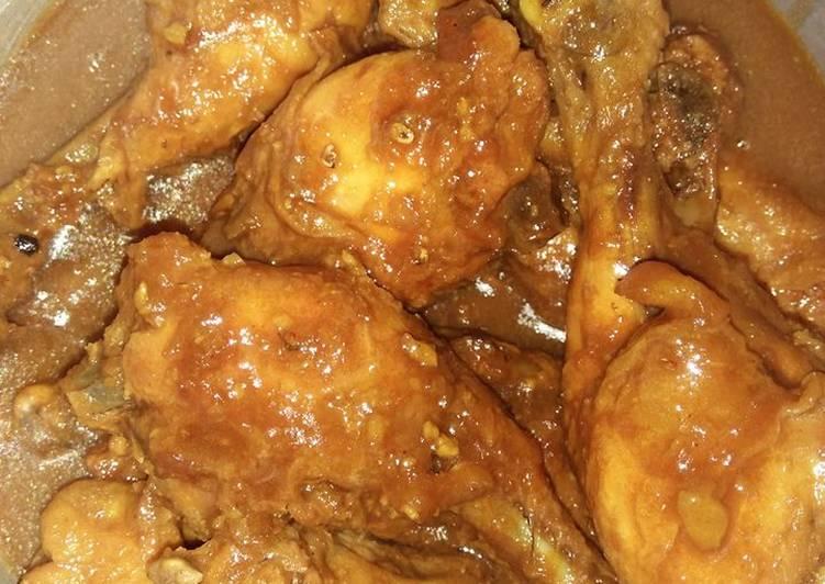Semur ayam lezat