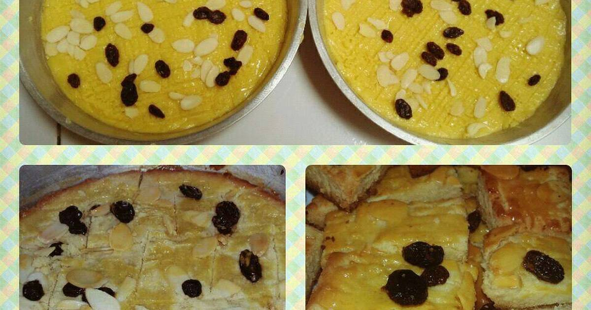 Resep BUTTERKOEK (Dutch Butter Cake)