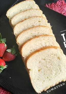 Roti tawar eggless (recomended)