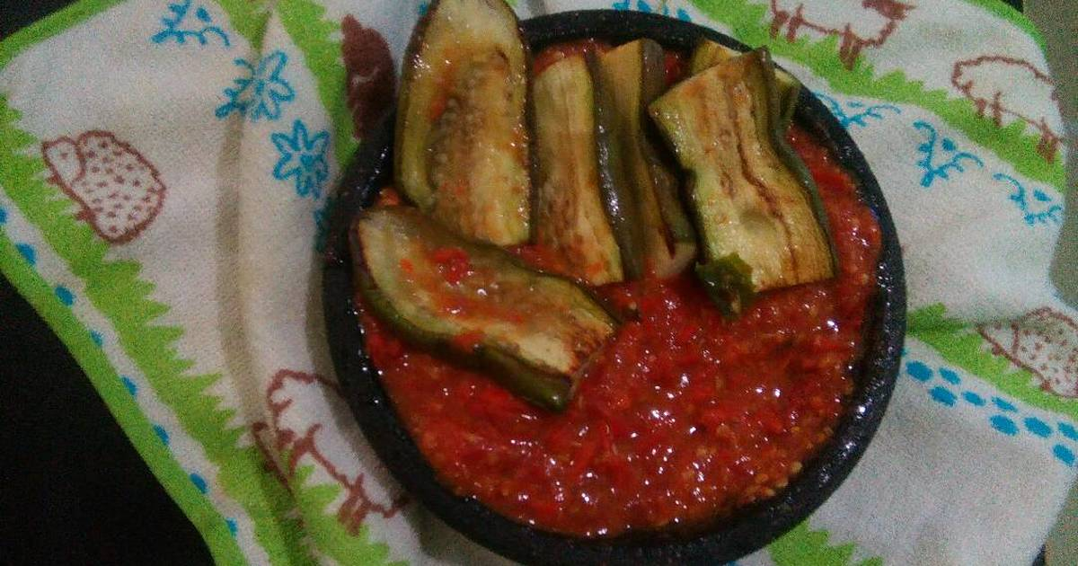 30 resep terung bakar penyet enak dan sederhana   cookpad