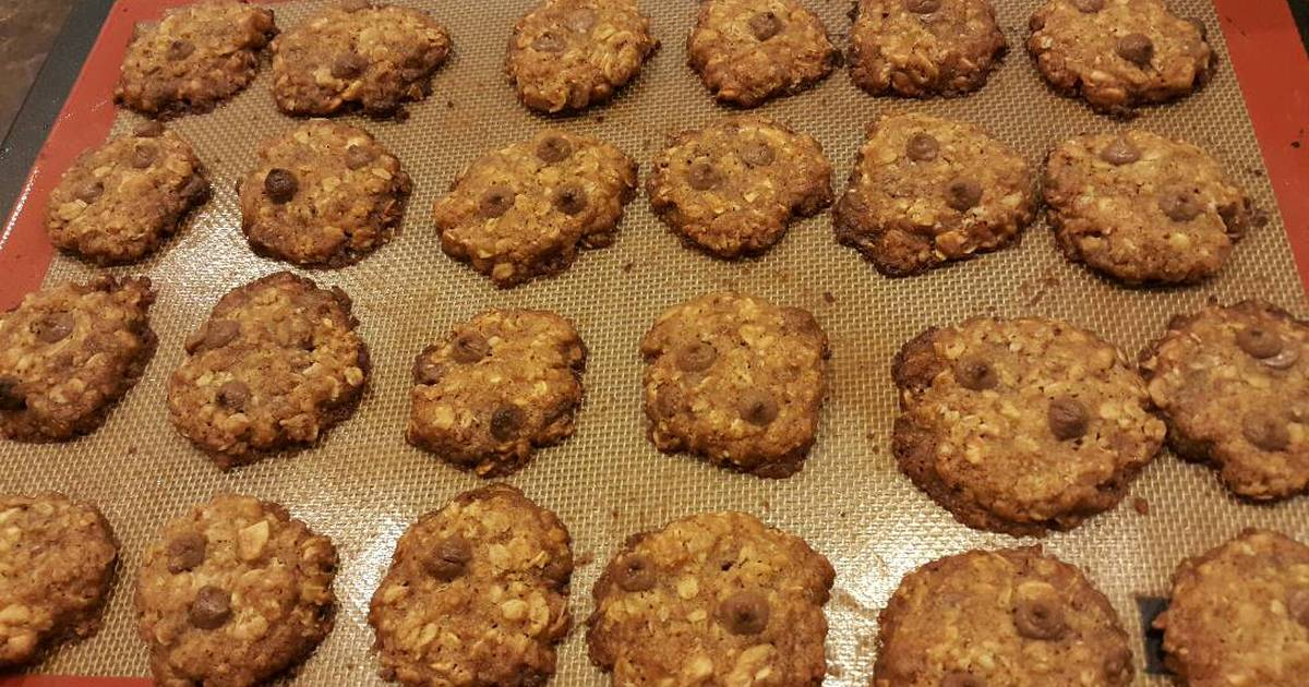Resep Chocolate chip oatmeal cookies