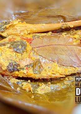 Pepes Ikan Nila Merah Duri Lunak