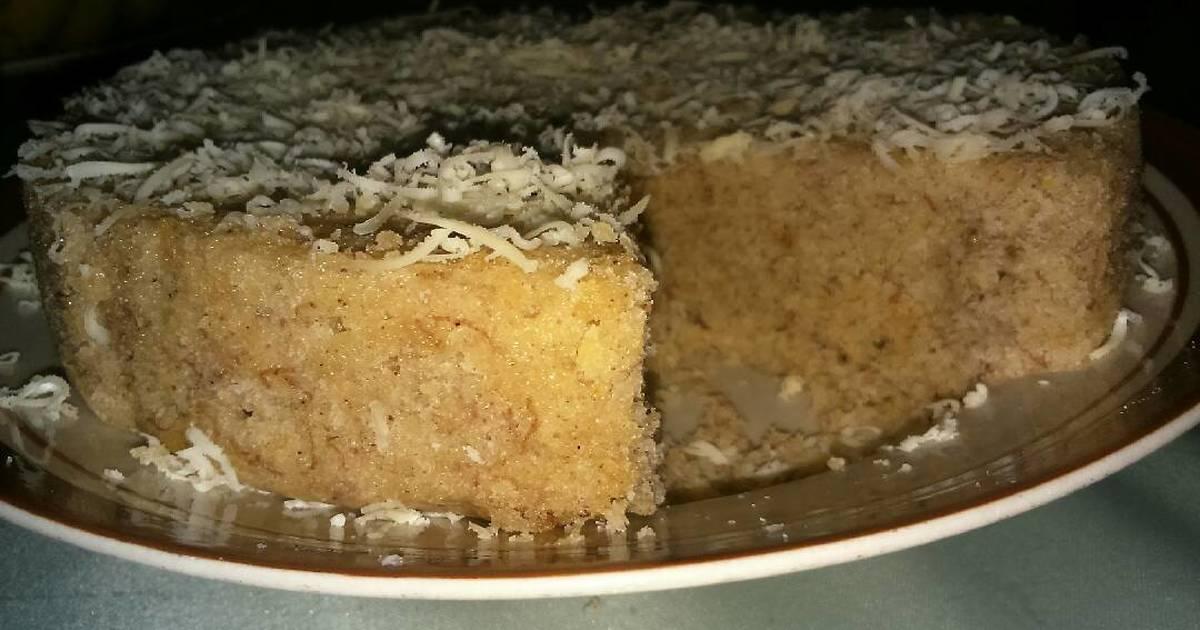 Resep Steamed Banana Cake (Bolu Pisang Kukus)