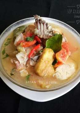 #2 Sop Ayam Tahu kemangi😋#rabubaru