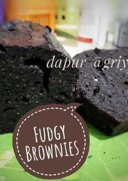 Fudgy Choco Brownies ketofy ala aqhuu 😁