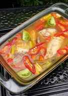 Soup kakap asem pedes steam ala bunda jkb #bikinramadhanberkesan