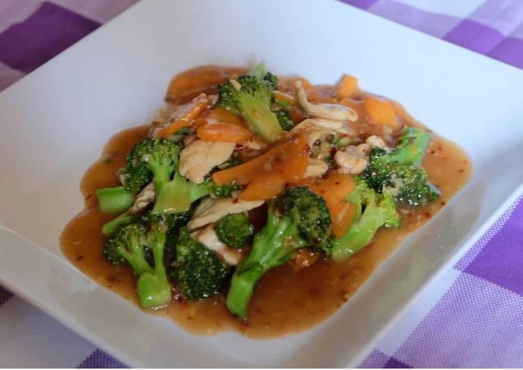 Cah Wortel Brokoli Ayam