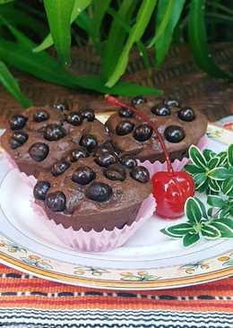 Brownies Selai Coklat dengan 3 bahan utama (#Pr_olahancoklat)