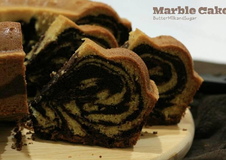 gambar untuk cara membuat Marble Cake / Marmer Cake