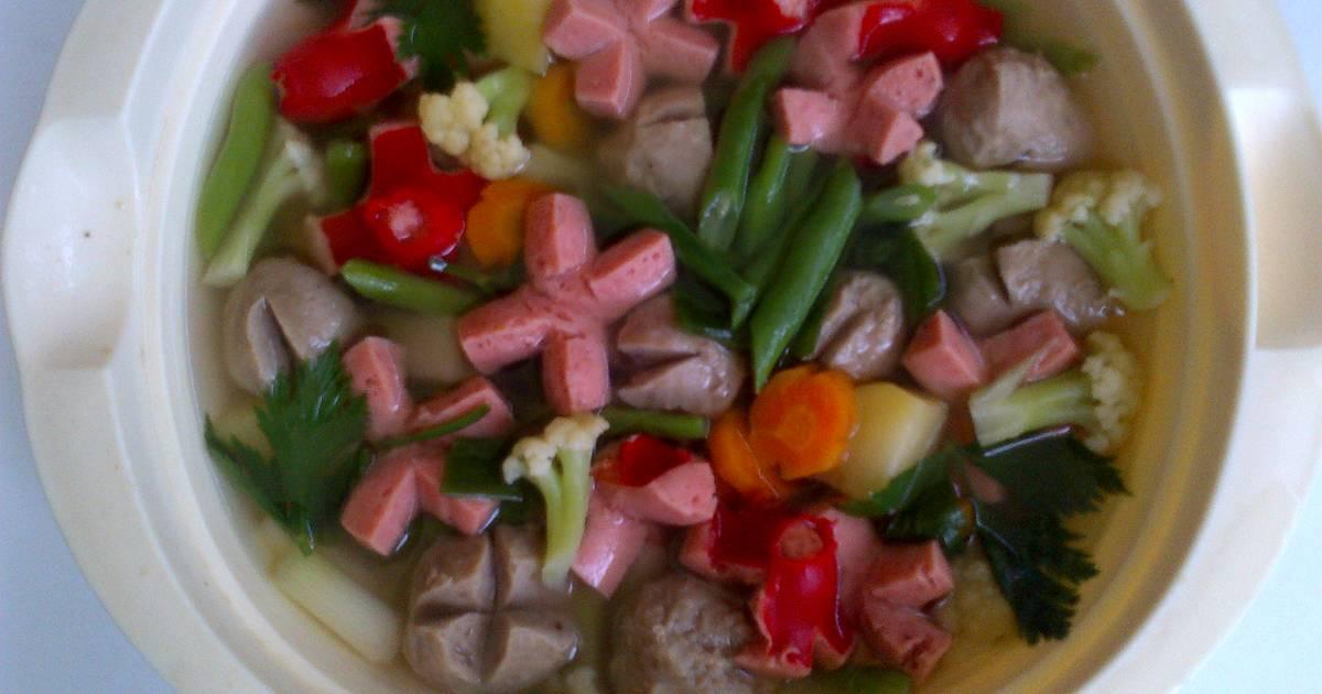 Resep Cake Kukus Untuk Bayi: 19 Resep Sup Untuk Bayi Rumahan Yang Enak Dan Sederhana