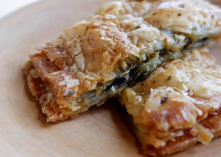 Creamy Spinach Pie