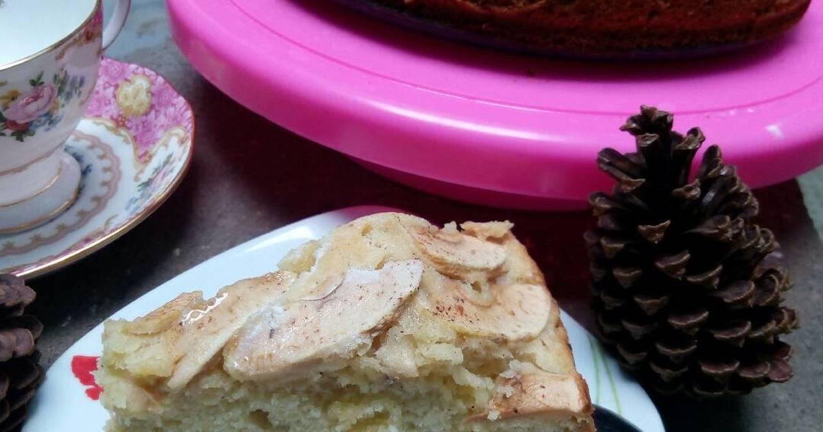 Resep Bolu Apel Kayu Manis (Apple Cinnamon Cake)