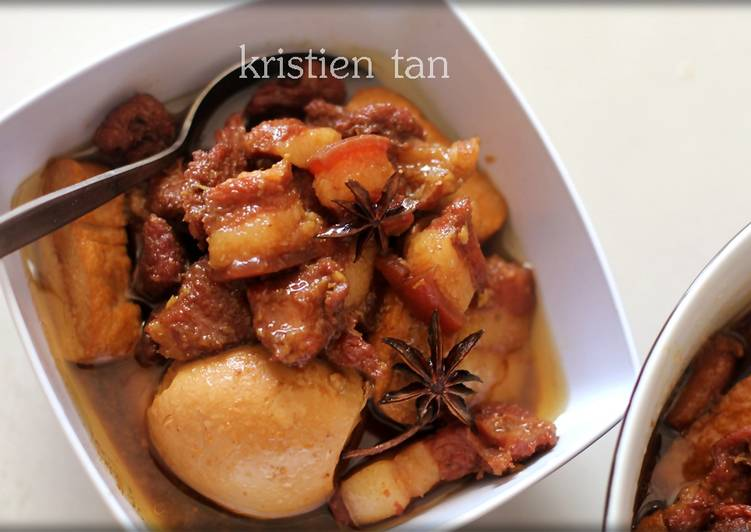 Babi Kecap Mudah Simpel Enak Chinese Food Recipe Main Photo
