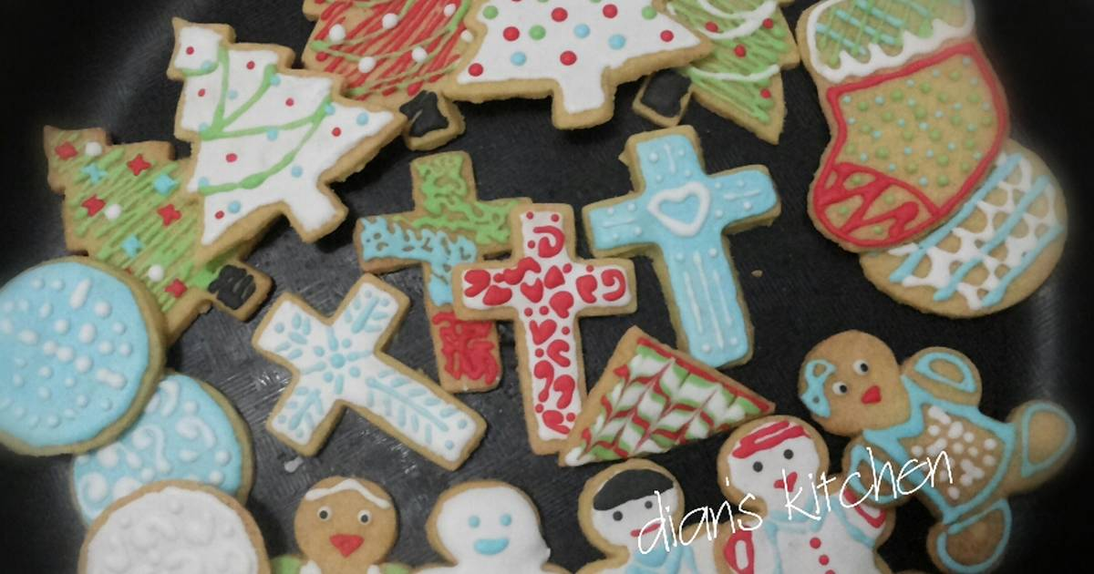 Resep Thematic Icing Cookies