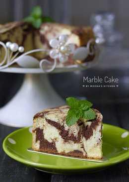 Marble Cake (cake putih telur)