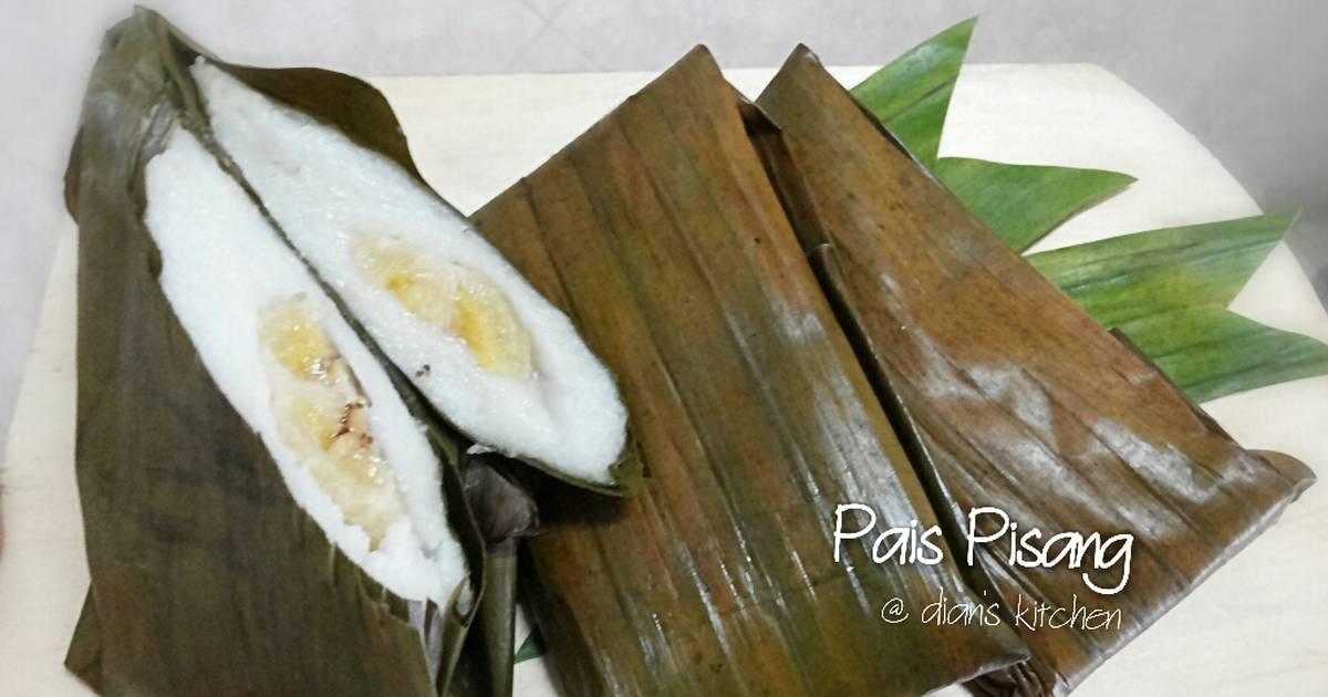 Resep Pais Pisang Lembut (Nagasari Pisang)