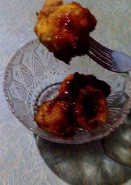 Bakso ayam goreng sambal