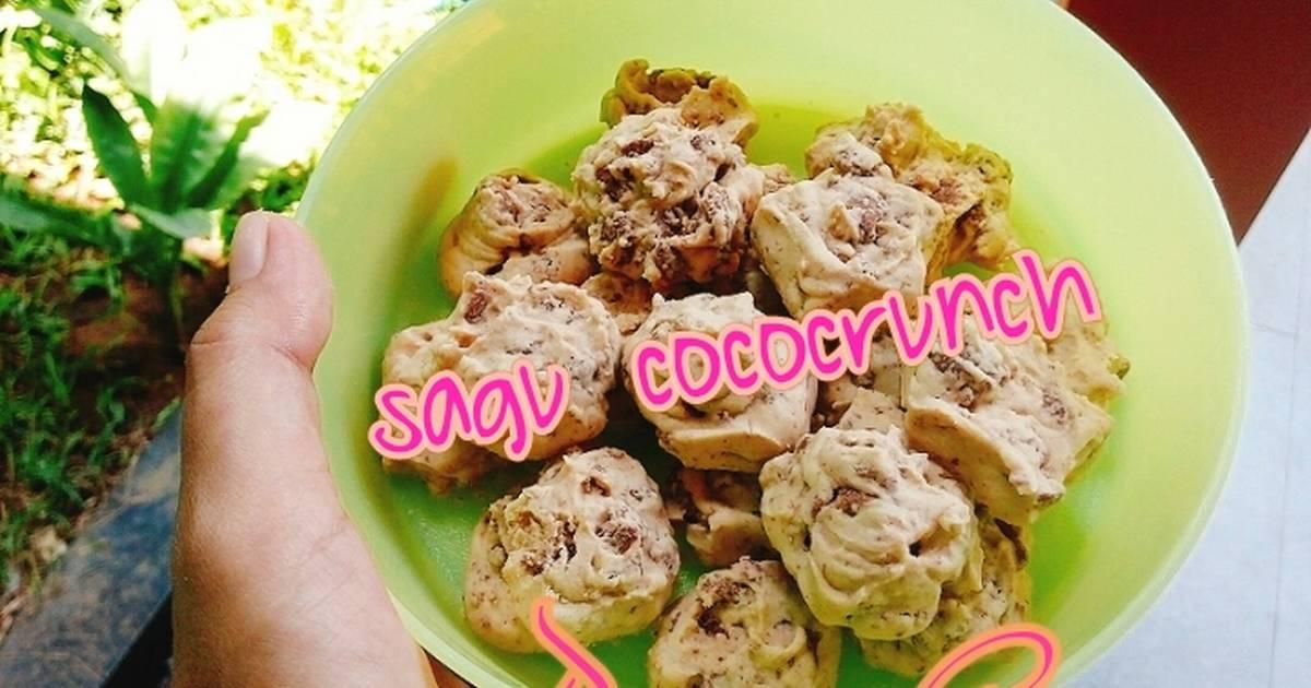 Resep Cookies Sagu Cococruch Renyah, cruchy bgt!