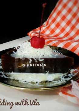 Choco Pudding with Vla