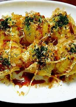 Takoyaki kentang isi keju