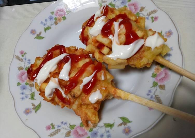 Resep Hotdog Kentang Jagung Oleh Ummu Freya Felisha Cookpad