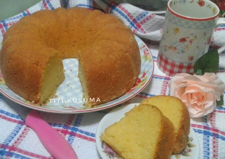 Resep Cake Tape Spesial Jtt: Resep Cake Tapai Keju Spesial Versi Butter Cake Oleh Titi