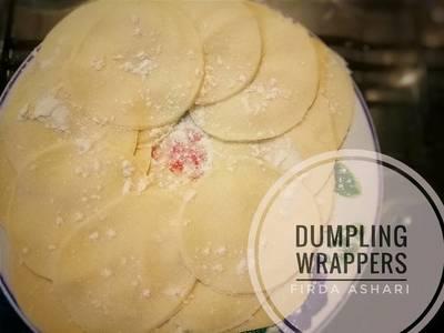 Dumpling Wrappers atau Kulit Gyoza